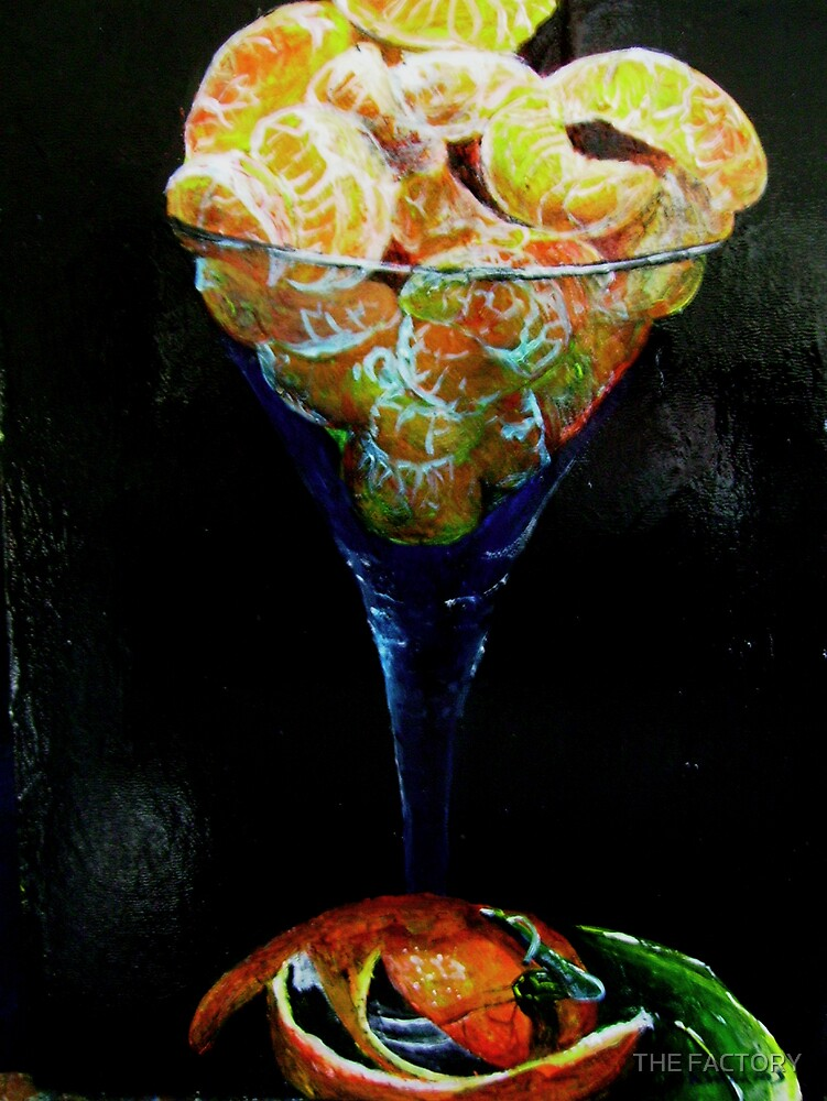 Tangarine in a glass by THE FACTORY