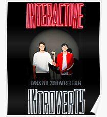 Dan and Phil 2018 Tour n.2 Poster