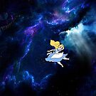 Alice Falling in Space by fitzmatt99