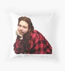 Post Malone Throw Pillow