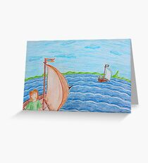 Swallows and Amazons II Greeting Card