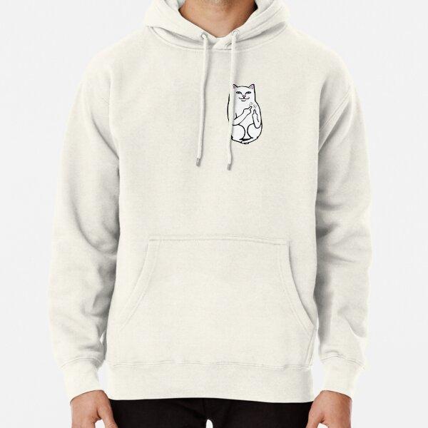 F U Cat Pullover Hoodie
