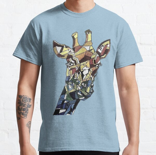 Cubism giraffe Classic T-Shirt