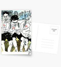 Nummerierte BTS Boys Postkarten