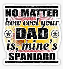 no matter dad cool vater gift Spanien Sticker