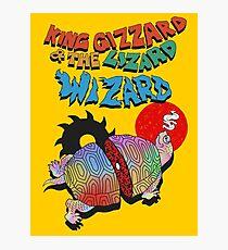 King Giz &the Liz Wiz Photographic Print
