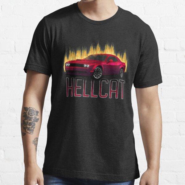 Illustration of Dodge Challenger SRT Hellcat Essential T-Shirt