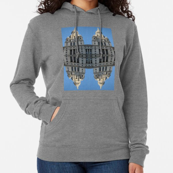 Architectural fantasies on the theme of Manhattan Lightweight Hoodie