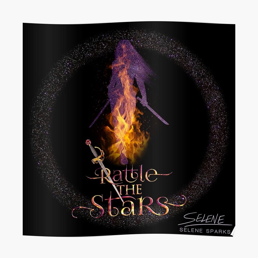 Rassel die Sterne - Thron aus Glas Poster
