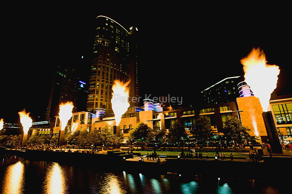 Firelight at Crown by Peter Kewley