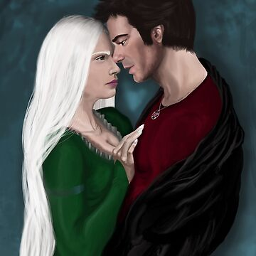 Queen Mab and Harry by AthenaLeonti