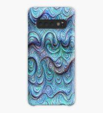 Frozen sea liquid lines and waves #DeepDream Case/Skin for Samsung Galaxy