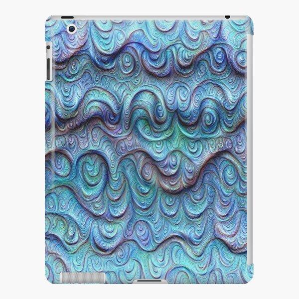 Frozen sea liquid lines and waves #DeepDream iPad Snap Case