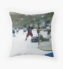 In Enemy Territory Throw Pillow