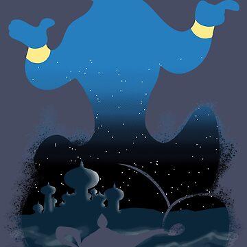 Blue Genie by Paolo87