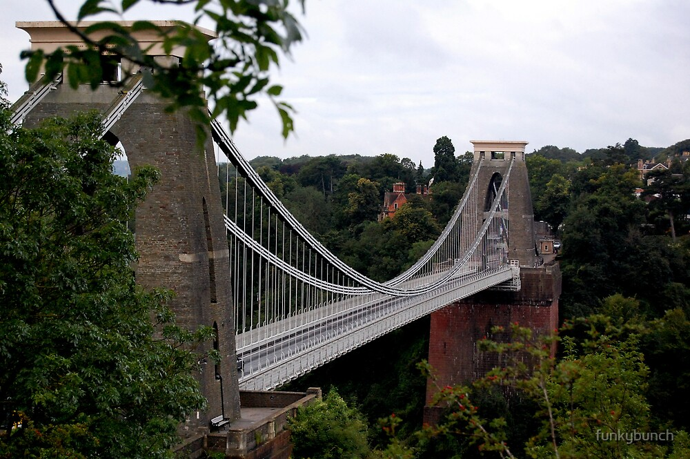 clifton suspension bridge by funkybunch