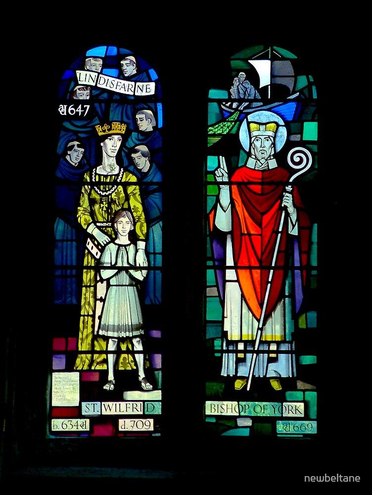 Burnsall Church stained glass window by newbeltane