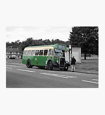 vintage bus Photographic Print