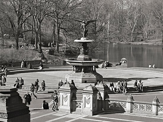 Bethesda Terrace at Central Park,  New York City by Jaymes Williams