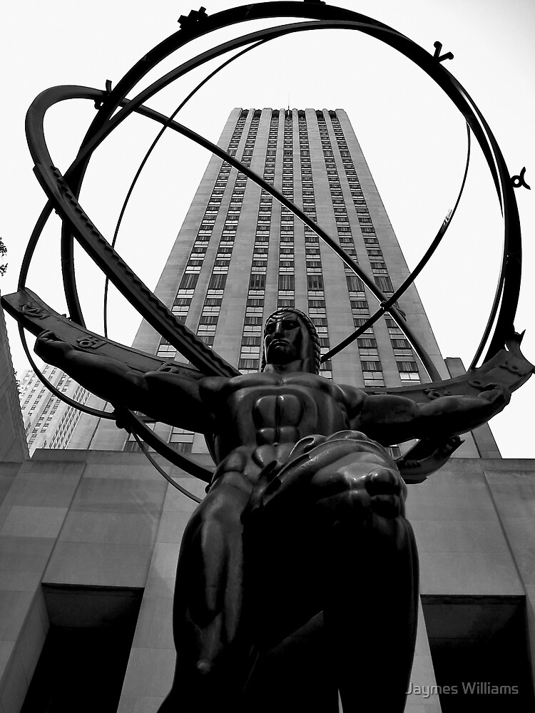 Atlas, Rockefeller Center, New York City by Jaymes Williams