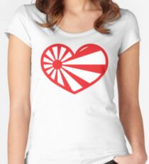 I LOVE JAPAN CULTURE Women's Fitted Scoop T-Shirt