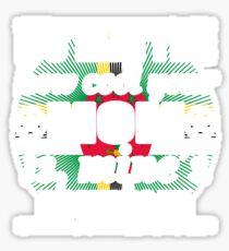 no matter mom cool mutter gift Dominica Sticker