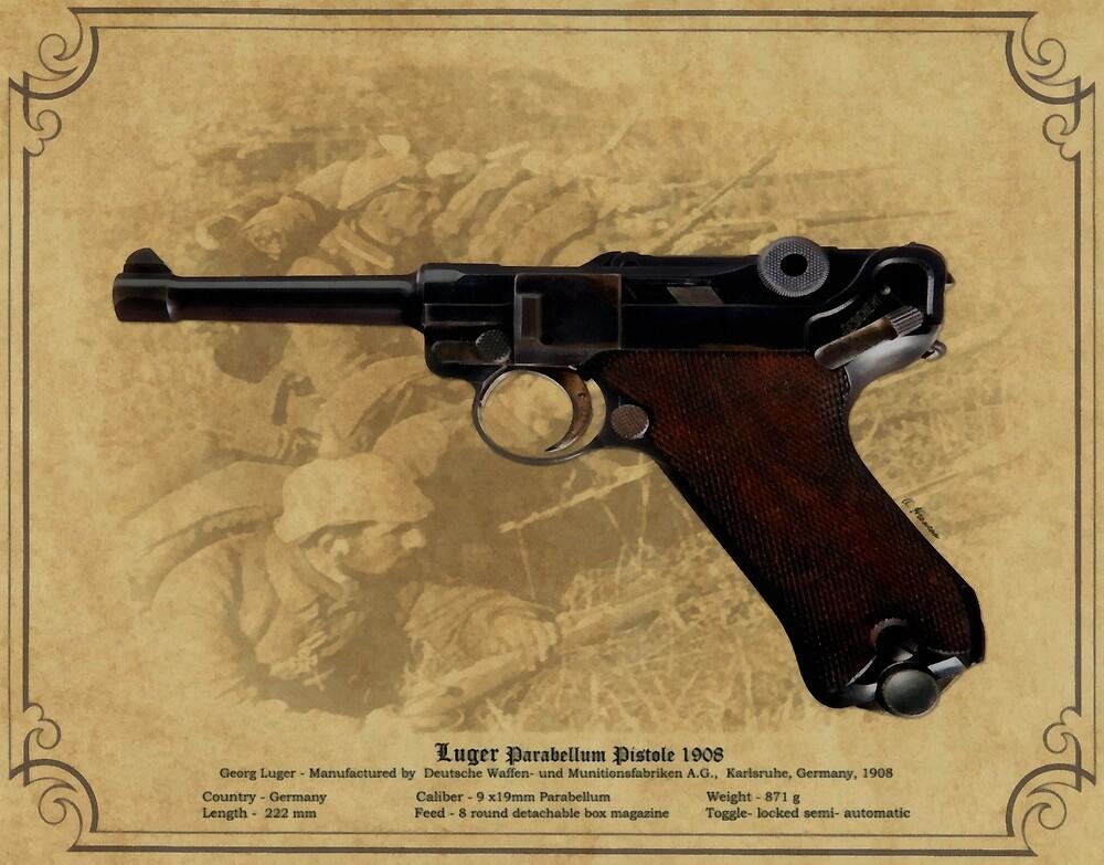 Luger Parabellum Pistole 1908