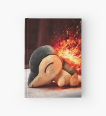 Cyndaquil Hardcover Journal