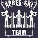 Après-Ski Team (Ski / Party / Beer / White) by MrFaulbaum