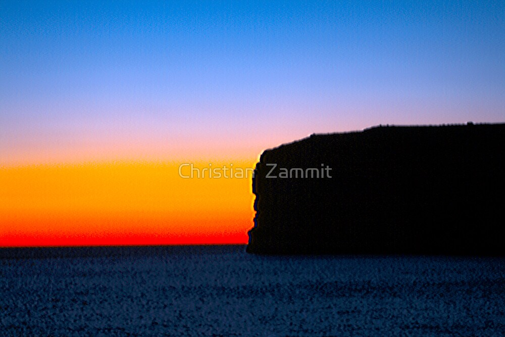 Sunset by Christian  Zammit