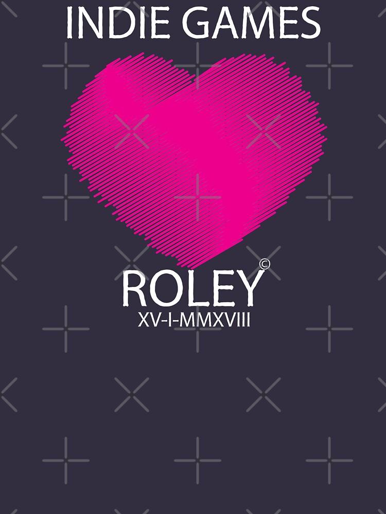 Love Indie Games by RoleyShop