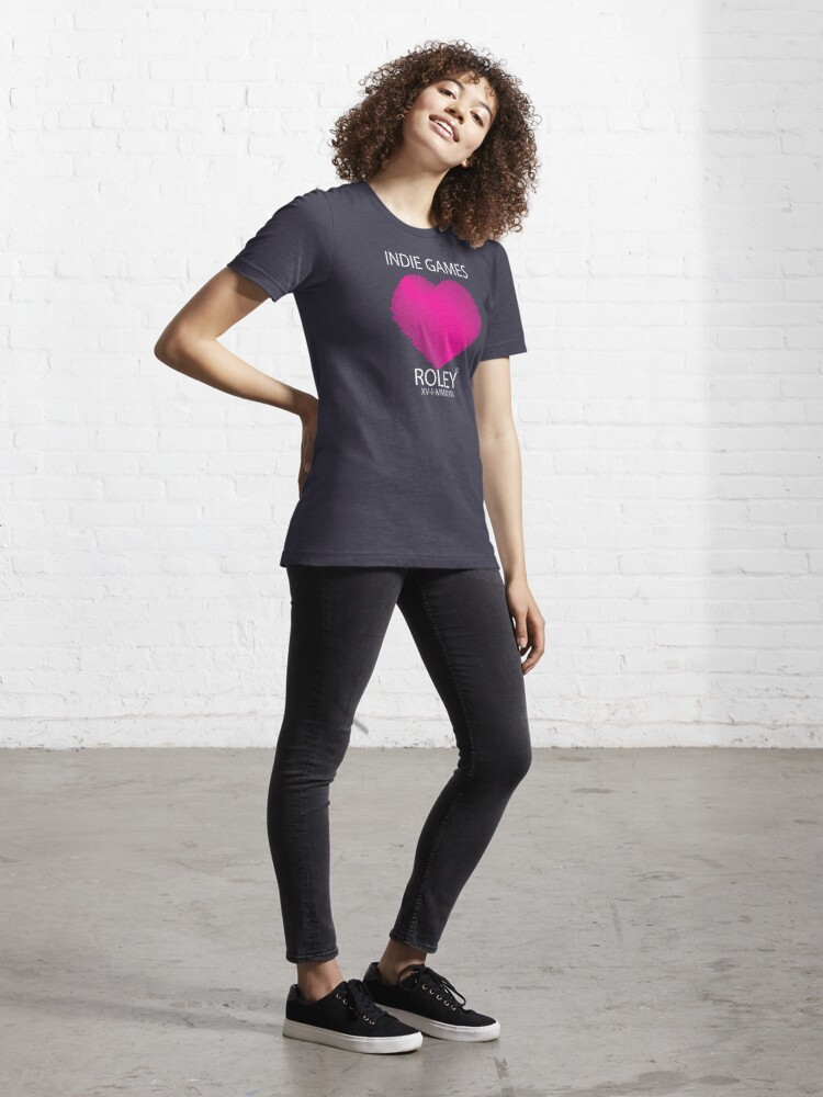 Alternate view of Love Indie Games Essential T-Shirt