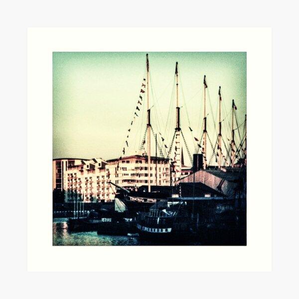 Bristol Docks and SS Great Britain Art Print