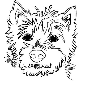 Cairn Terrier Love by thecustombrush