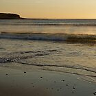 ORKNEY SUN DOWN by andrewsaxton