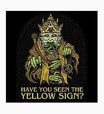 Trifaccia Yellow King - Azhmodai 2018 Photographic Print