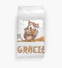 Gracie Owl Duvet Cover