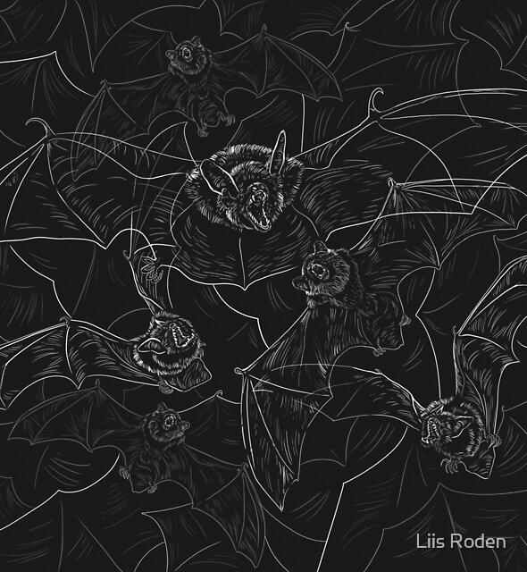 Bat Attack by Liis Roden