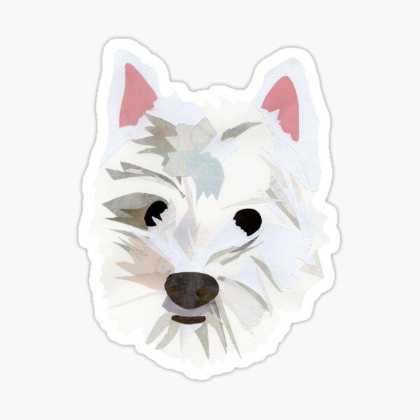 Max the Westie Sticker