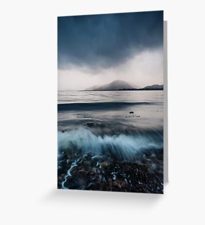 Inverscaddle Storm Greeting Card