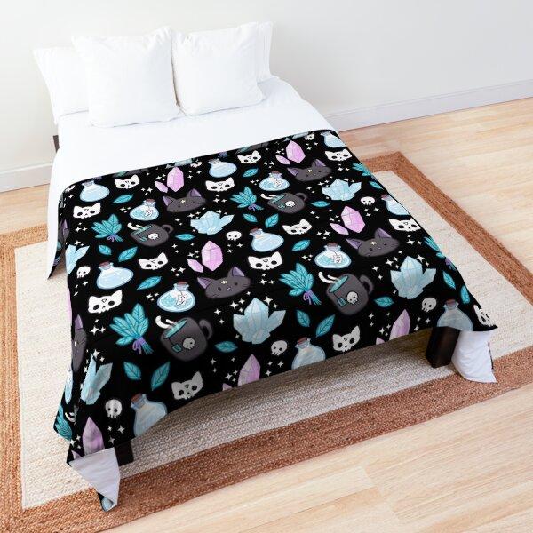Herb Witch // Black Comforter