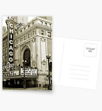 The Chicago Theater Postcards