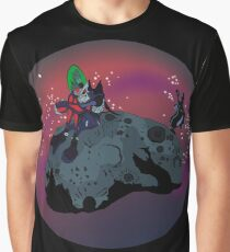 Spending time on an asteroid Graphic T-Shirt