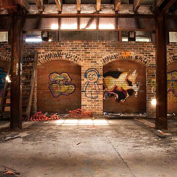 Abandoned Mittagong Maltings by jayderosalie