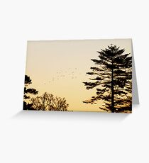 Crowing Home Greeting Card
