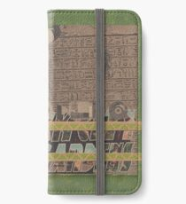 Rough Craft Giraffe iPhone Wallet/Case/Skin