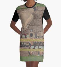 Rough Craft Giraffe Graphic T-Shirt Dress