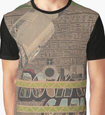 Rough Craft Giraffe Graphic T-Shirt