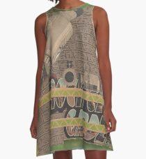 Rough Craft Giraffe A-Line Dress