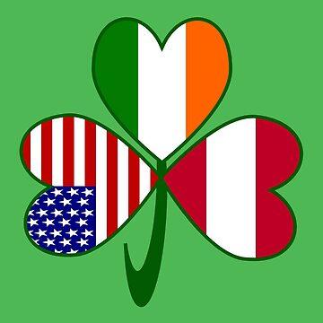 Austrian Irish American Shamrock by AuntieShoe